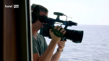 Naked News Films Aboard!