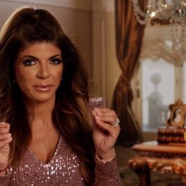 Teresa finally shows a hint of anger towards Joe Giudice