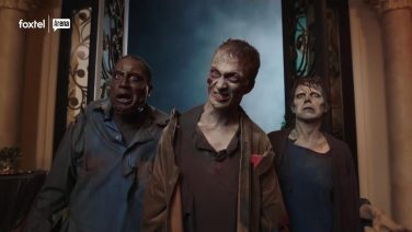 Zombie party guests?! No, ma'am!