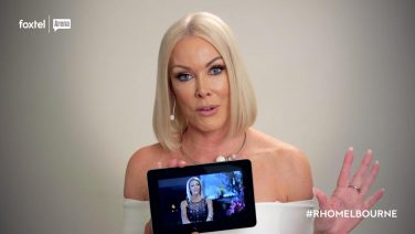 Janet critiques her past Real Housewives of Melbourne looks
