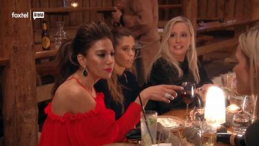 Is this the weirdest Real Housewives fight ever?