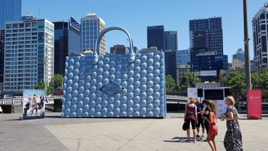 The World's Biggest Handbag has landed in Melbourne – come and meet the Real Housewives!
