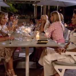 Is this the most dysfunctional Real Housewives dinner ever?