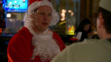 Lyle's Drunk Realisation About Catherine (in a Santa Suit)
