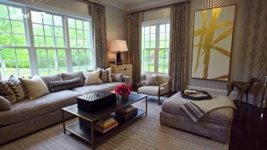 Go Inside Sherrie and Dave's New Living Room