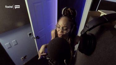 New Housewife Shamari DeVoe in the Recording Studio