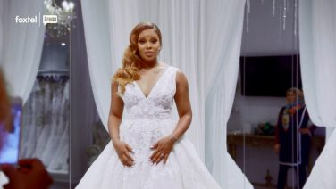 Eva Marcille Shops For a Wedding Dress