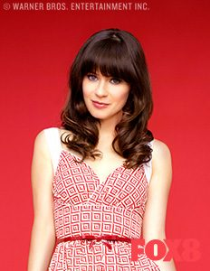 jessica day hair styles new day 7161 | FOX8 CastImage New Girl Jessica Day Zooey Deschanel 232x300