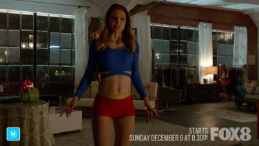 How did Supergirl pick her outfit?