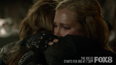 The 100 Clarke and Abby