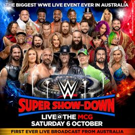 WIN a double pass to WWE Super Show-Down!