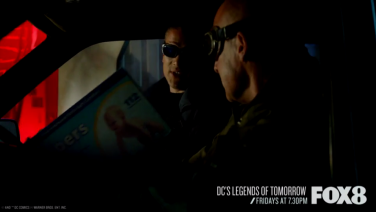 DC's Legends Of Tomorrow Captain Cold and Heatwave