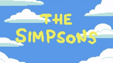The Simpsons Pixel Intro