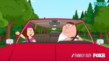 Family Guy Car Hand Wave Thingy