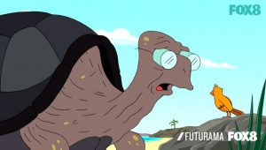 Futurama Turtle Love