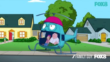 Family Guy To The Megcopter
