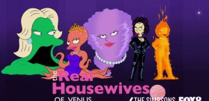 The Simpsons The Real Housewives Of Venus