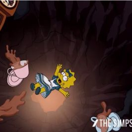 The Simpsons Lisa In Wonderland