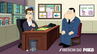 American Dad Job Interviews Are Hard