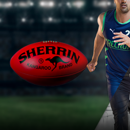 Win a signed Sherrin football