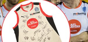 AFL Alumni Jumper Auction