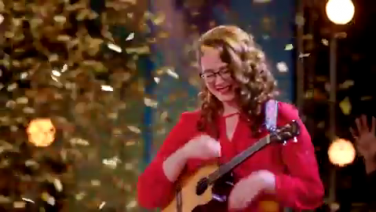 America's Got Talent Mandy Harvey Gets The Gold Buzzer!