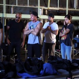 Behind the scenes: Training day