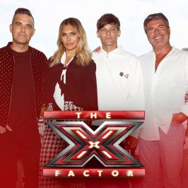 MUSIC SUPERSTARS ROBBIE WILLIAMS AND LOUIS TOMLINSON JOIN THE X-FACTOR UK