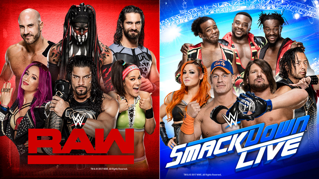 WWE Raw, WWE SmackDown