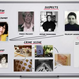 Interactive Crime Board – Maria James