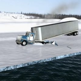 Ice Road Truckers – Dangers of Going Fast