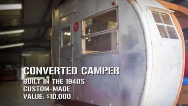 Shipping Wars – Camper Van Dining