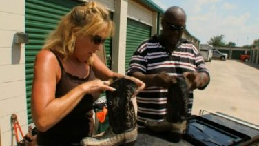 Storage Wars Texas – Snake Boots