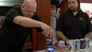 Pawn Stars – Pepsi Cans