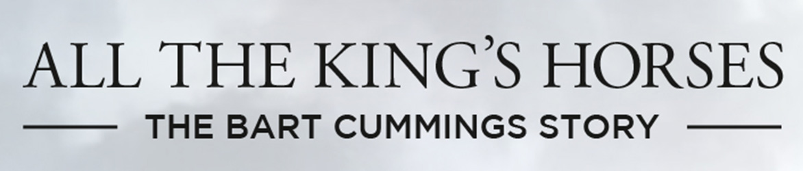 WIN an All The King's Horses: The Bart Cummings Story DVD
