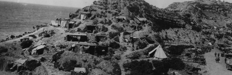 The Battle of Gully Ravine Rages at Gallipoli