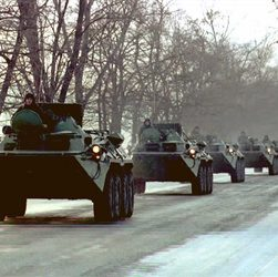 Russian Troops Enter Chechnya