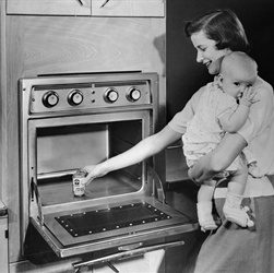 First Domestic Microwave Oven