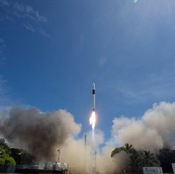 First Private Spacecraft Launched Into Orbit