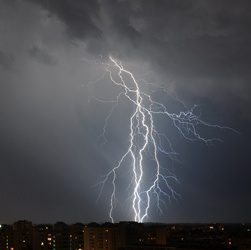 Man Struck by Lightning 7 Times