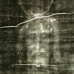 Shroud of Turin First Photographed