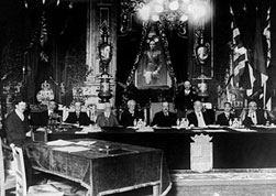 League of Nations instituted