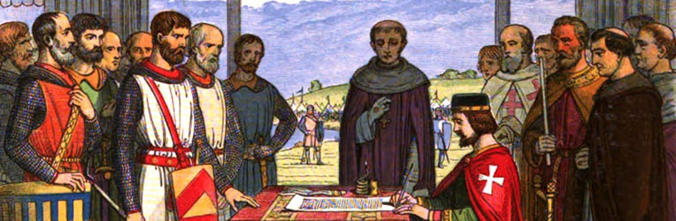 King John and the Sealing of the Magna Carta