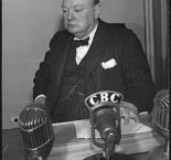 Churchill resigns