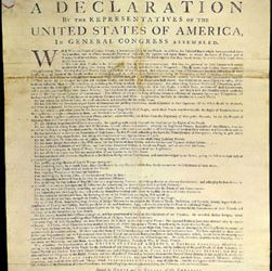 United States declares independence