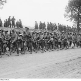 Australians Arrive on the Western Front