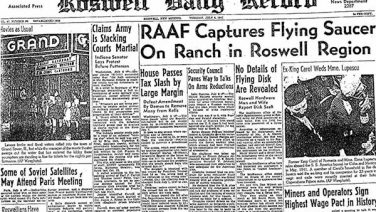 Aliens in the Desert – The Roswell Incident