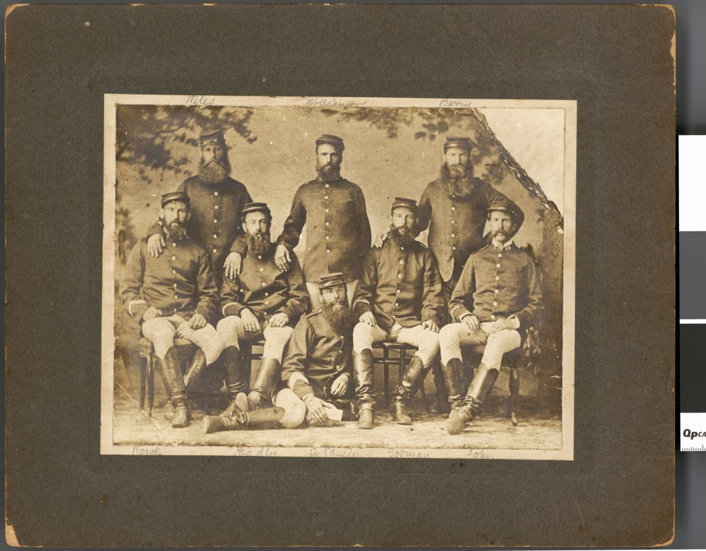 The Capturers of the Moonlight gang of Bushrangers (1879)