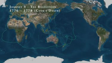 The Third and Final Voyage of James Cook (1776–79)