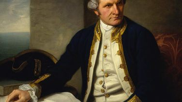 The Pacific: About Captain Cook